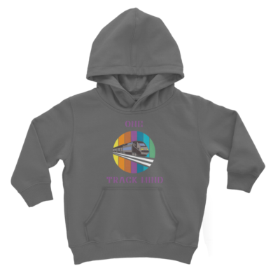 One Track Mind Kids Train Hoody